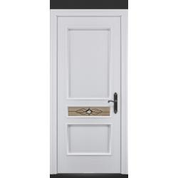 RADA Межкомнатные двери Палермо исп2 ДО2 Blanc - (Белая эмаль)