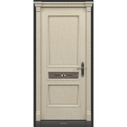 RADA Межкомнатные двери Палермо исп2 ДО2 Белое золото ГОЛД