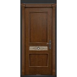 RADA Межкомнатные двери Палермо исп2 ДО2 Дуб коньяк