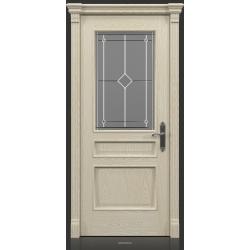 RADA Межкомнатные двери Палермо исп3 ДО1 Белое золото ГОЛД