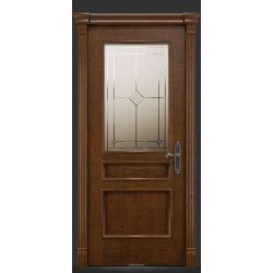 RADA Межкомнатные двери Палермо исп3 ДО1 Дуб коньяк