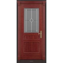 RADA Межкомнатные двери Палермо исп3 ДО1 Красное дерево