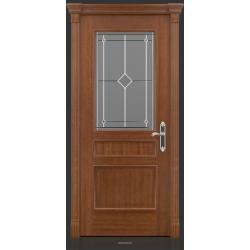 RADA Межкомнатные двери Палермо исп3 ДО1 Макоре золотая