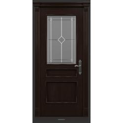 RADA Межкомнатные двери Палермо исп3 ДО1 Табако тангенс (св)