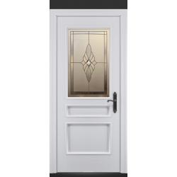 RADA Межкомнатные двери Палермо исп3 ДО2 Blanc - (Белая эмаль)