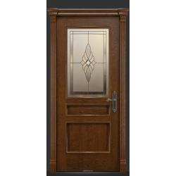 RADA Межкомнатные двери Палермо исп3 ДО2 Дуб коньяк