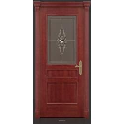 RADA Межкомнатные двери Палермо исп3 ДО2 Красное дерево
