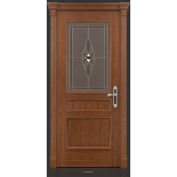 RADA Межкомнатные двери Палермо исп3 ДО2 Макоре золотая