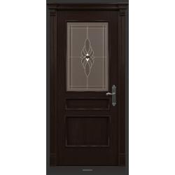 RADA Межкомнатные двери Палермо исп3 ДО2 Табако тангенс (св)