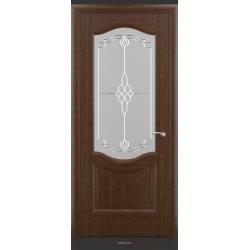RADA Межкомнатные двери Сивилия ДО Темный орех