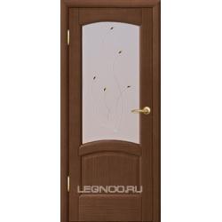 RADA Межкомнатные двери Венеция ДО Темный орех