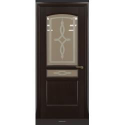 RADA Межкомнатные двери Неаполь исп1 ДО Венге