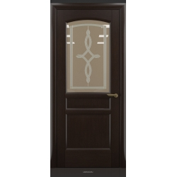 RADA Межкомнатные двери Неаполь исп3 ДО Венге