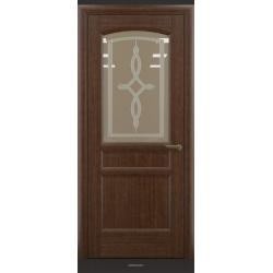 RADA Межкомнатные двери Неаполь исп3 ДО Темный орех