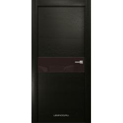 RADA Межкомнатные двери X-Line исполнение 1 ДО Espresso (Эспрессо ) 5 (тёмно-коричневый лакобель)