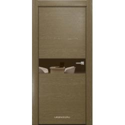 RADA Межкомнатные двери X-Line исполнение 1 ДО Mokko ice (Мокко айс) 11 (бронзовое зеркало)