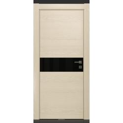RADA Межкомнатные двери X-Line исполнение 2 ДО Ice cream (Айс крим) 2 (черный лакобель)
