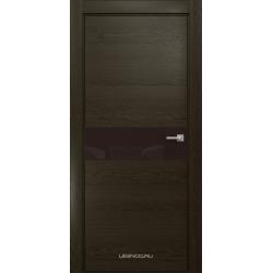RADA Межкомнатные двери X-Line исполнение 2 ДО Espresso (Эспрессо ) 5 (тёмно-коричневый лакобель)
