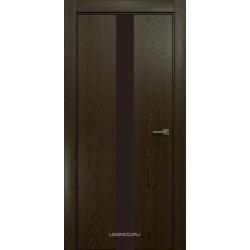 RADA Межкомнатные двери X-Line исполнение 3 ДО Espresso (Эспрессо ) 5 (тёмно-коричневый лакобель)