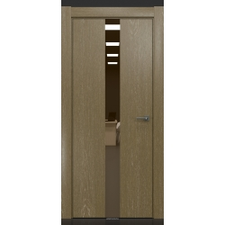 RADA Межкомнатные двери X-Line исполнение 3 ДО Mokko ice (Мокко айс) 11 (бронзовое зеркало)