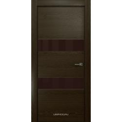 RADA Межкомнатные двери X-Line исполнение 4 ДО1 Espresso (Эспрессо ) 5 (тёмно-коричневый лакобель)