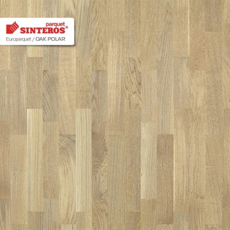 Паркетная доска Sinteross EUROPARKET Oak Polar CL TL