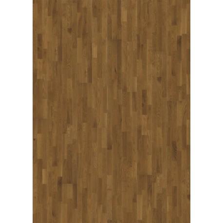 Паркетная доска KAHRS AVANTI Дуб Бисби Сатиновый лак, светло-коричневый
