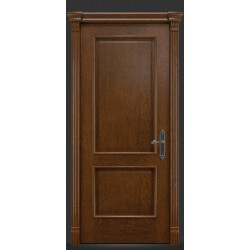 RADA Межкомнатные двери Валенсия ДГ Дуб коньяк