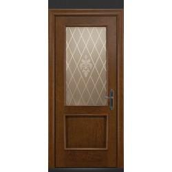 RADA Межкомнатные двери Валенсия ДО1 Дуб коньяк