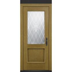 RADA Межкомнатные двери Валенсия ДО1 Дуб натуральный
