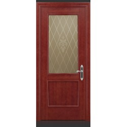 RADA Межкомнатные двери Валенсия ДО1 Красное дерево