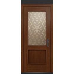 RADA Межкомнатные двери Валенсия ДО1 Макоре золотая
