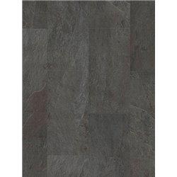 Плитка ПВХ Quick Step Ambient Glue+ Сланец черный AMGP40035
