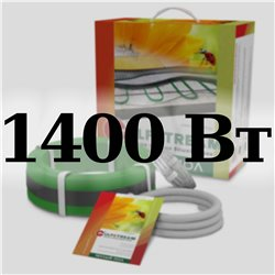 Теплый пол 2-ух жильный GULFSTREAM 20КГС2-1400