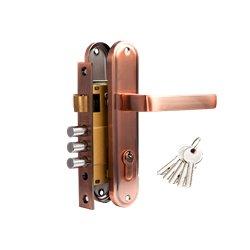 Дверной комплект Tixx LH 7036-126 АС медь античная
