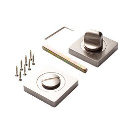 Завертка Ренц BK 02 BIG SN/NP никель матовый/никель блестящий