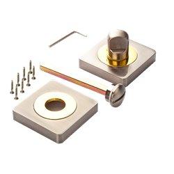Завертка Ренц BK 02 BIG SN/GP никель матовый/латунь блестящая