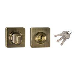 Завертка с ключом Ренц BK-K 02 AB бронза античная