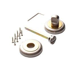 Завертка Tixx BK 04 SN/GP никель матовый/латунь блестящая