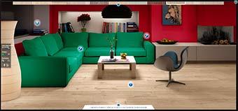Floor Advisor - подбор цвета ламината на официальном сайте Quick Step