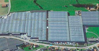 Завод - производство Balterio в Бельгии
